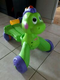 Ride & Learn to walk Dinosaur. PU ONLY! Toronto, M9R 0A3