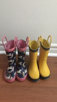 Toddler Rain Boots size 5 Mississauga, L4Z 3P4
