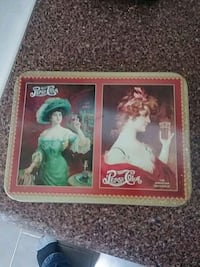 Pepsi Cola playing cards in tin