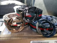 3 Gucci belts  Sudley Springs, 20109