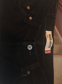 Mens Levis 505 Regular Straight Black Jeans Size 34/ 30 Suitland, 20746