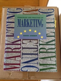 Principles and Practice of Marketing by David Jobber book