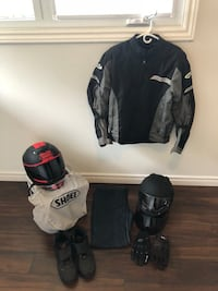 Motorcycle riding gear Barrie, L4N