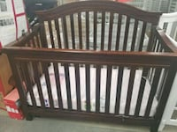 baby's brown wooden crib Passaic, 07055