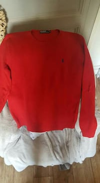rouge Ralph Lauren sweat-shirt col ras du cou Les Ponts-de-Cé, 49130