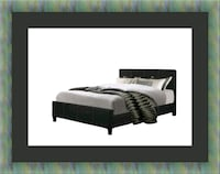 King platform bed with mattress Temple Hills