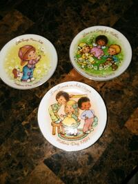 Decorative plates  Hesperia, 92345