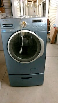 gray Samsung front-load clothes washer Hayesville, 28904