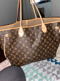 Lv never full mm tote bag Jackson, 39204