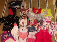 Girls clothes sizes 3 months to 3t. Hephzibah, 30815