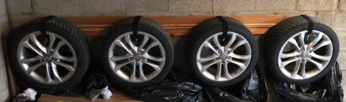 245/40/18 Wheels & Snow Tires - Audi