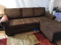 L-shaped couch