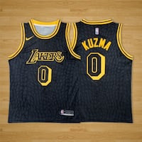 CANOTTA BASKET KUZMA 0 LAKERS NBA JERSEY L