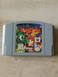 N64 game / Banjo-Kazooie / Mint condition! Kitchener, N2E 2K2