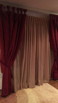 Premium quality Curtains with Rod and sheer. Laval, H7M 3R3