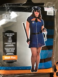 Brand new cop costume plus size  Whitby, L1M 1H5