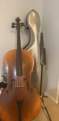 Cello, cello stand, and silver carbon case  Rowland Heights, 91748