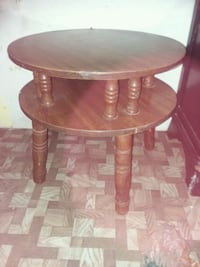 round brown wooden side table Waco, 76707