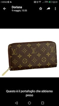 cinturino in pelle marrone Louis Vuitton Lurate Caccivio, 22075
