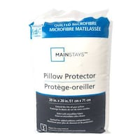 *Brand New in Package* Mainstays STANDARD/QUEEN Quilted Microfiber Pillow Protector Mississauga