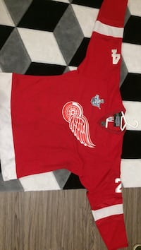 2008 Stanley cup Chris Chelios Detroit redwings official jersey