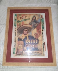 Large tequila advertising picture  Blackstone, 01504