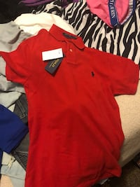 red small polo shirt Midland, 79701