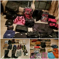 60 Purses/Luggage&Shoes all sold together (NLV) North Las Vegas, 89081