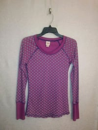 MOSSIMO PRINTED THERMAL TOP