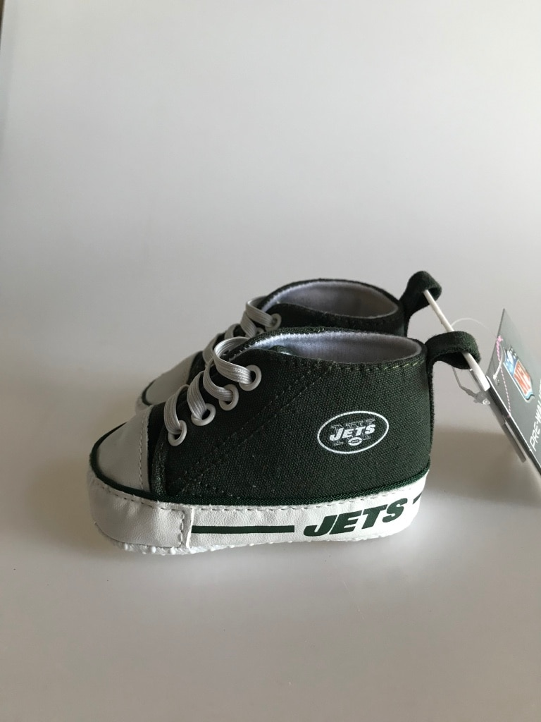 Photo Toddlers NY jets shoes
