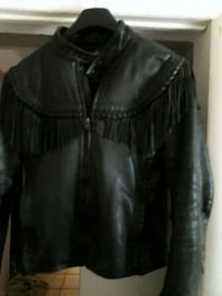Harley Davidson black leather jacket  Oakland Park, 33334