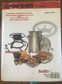 King cooker out door boiling package Vancouver, 98684