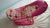 pink and white polka dot print bather Parkville, 21234