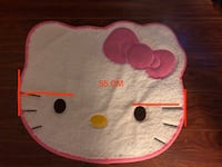 Hello Kitty and heart mat  95% new, nice and clean  Markham