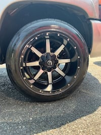 20inch fuel rims with tires  Springfield, 01109