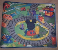 Mickey Mouse Play Car Mat Lincoln, L0R