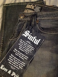Sinful Jeans never worn Hollister, 95023