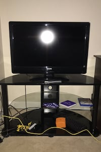 Tv stand with the TV price negotiable Louisville, 40219