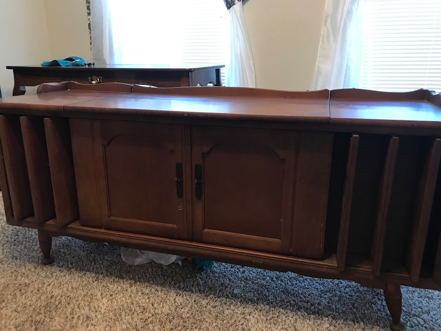 Photo 1966 Zenith Record Player Console