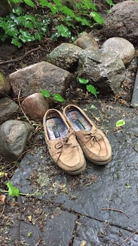 Well loved Sperry boat shoes Toronto, M6H 2V6