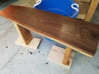 Walnut live edge bench Fort Jennings, 45844