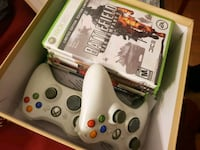 Xbox 360 controllers and games Toronto, M3J 1L9