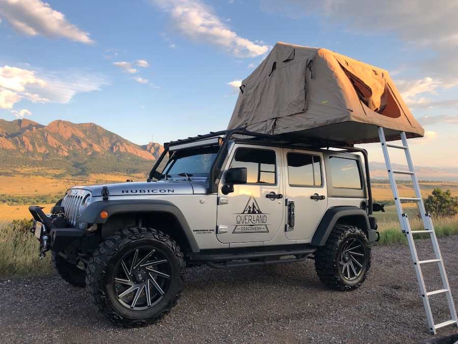 & Used Smittybilt Overlander XL Roof Top Tent for sale in Arvada - letgo