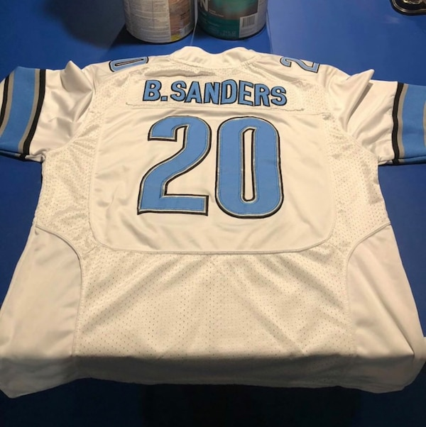 official photos a1ca7 a8394 Barry Sanders authentic jersey