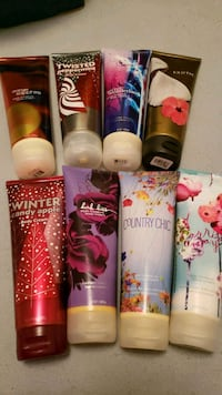 8 bath and body works lotions (new) Bedford, 24523