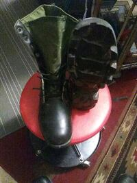 Military boots.  size 9R Tucson, 85746