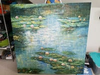 5'x5' oil painting