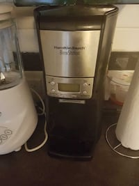 black-and-silver hamilton beach coffeemaker and wh Calgary, T2S 0M1