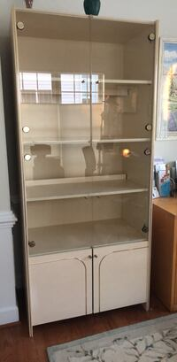 stainless steel framed glass display cabinet Leesburg, 20175