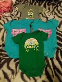four assorted color onesie West Valley City, 84119